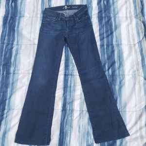 7 for all Mankind bootcut jeans 27
